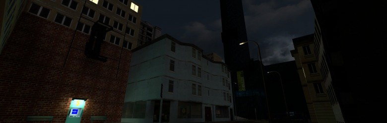 rp_cg_gtown_v08_(night_summer_ For Garry's Mod Image 1