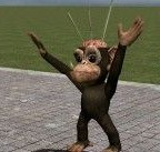 vodo_monkey.zip For Garry's Mod Image 1