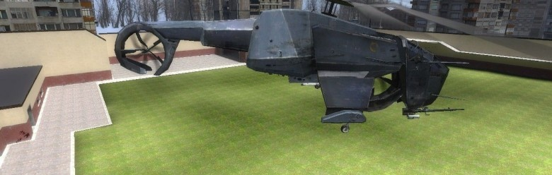 Helicopter Playermodel For Garry's Mod Image 1