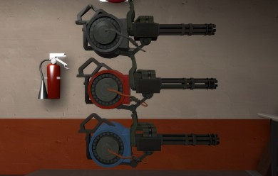 Sentry Minigun For Garry's Mod Image 1