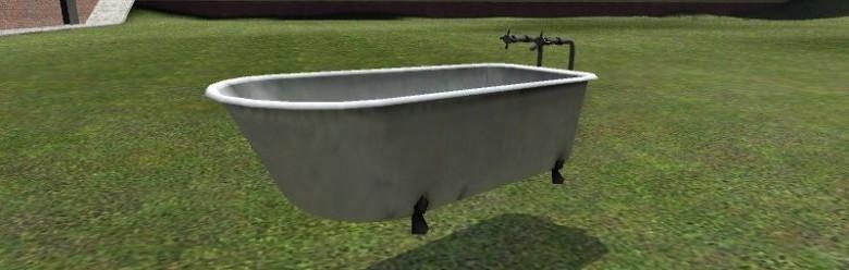 drivable_bathtub.zip For Garry's Mod Image 1
