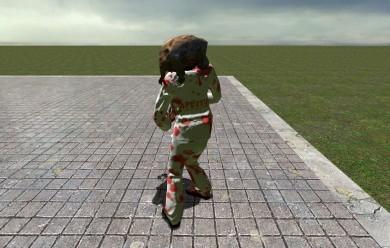 aperture_zombie.zip For Garry's Mod Image 2