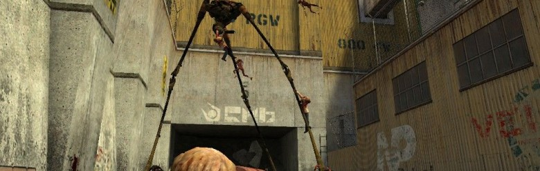 strider_overrun_by_zombies_bg. For Garry's Mod Image 1