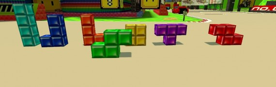 TetrisBlocks(with real texture