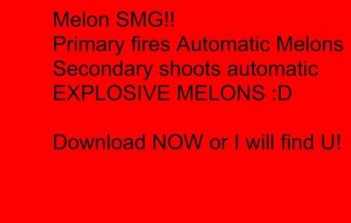 melon_smg!.zip For Garry's Mod Image 1