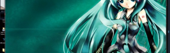 Miku Backrounds with 2 songs