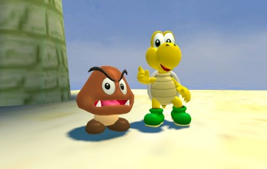 Goomba and Koopa Troopa For Garry's Mod Image 1