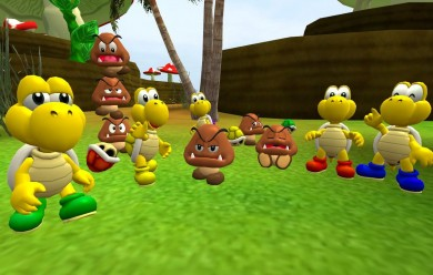 Goomba and Koopa Troopa For Garry's Mod Image 2