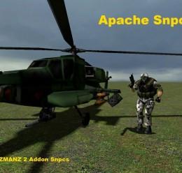 Half-Life Apache Snpc V.1 For Garry's Mod Image 1