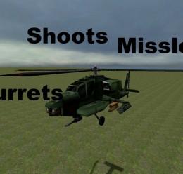 Half-Life Apache Snpc V.1 For Garry's Mod Image 3