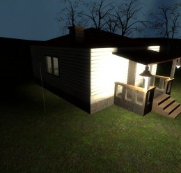 gm_lonehouse_night For Garry's Mod Image 1