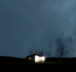 gm_lonehouse_night For Garry's Mod Image 2