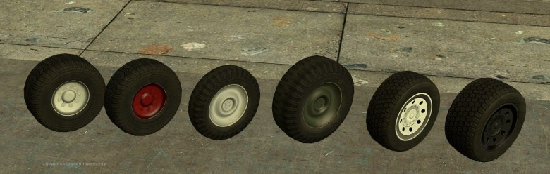 [GM13] Sprops wheel retexture For Garry's Mod Image 1