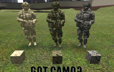 marine_inspired_digitial_camou For Garry's Mod Image 1