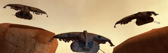 SWBFII Droid Gunship