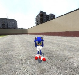 Beta sonic For Garry's Mod Image 1