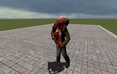 zombie_and_headcrab_from_beta. For Garry's Mod Image 1