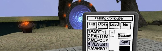 Stargate Dialling Computer 1.4