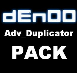 dEn00 Adv_Duplicator PACK For Garry's Mod Image 1