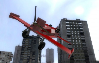 the_red_baron_plane.zip For Garry's Mod Image 1