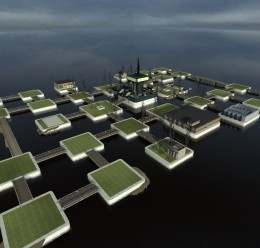 rp_distant_city_v3.zip For Garry's Mod Image 1