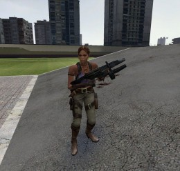 sheva_alomar_npc.zip For Garry's Mod Image 1