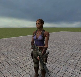 sheva_alomar_npc.zip For Garry's Mod Image 2