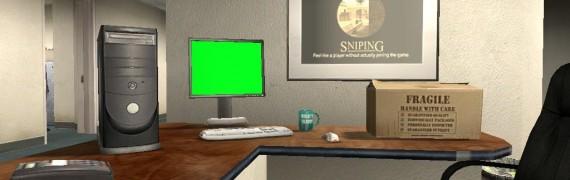 Greenscreen computer