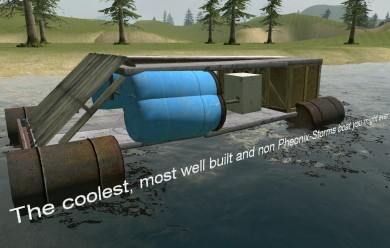 Fake Boat For Garry's Mod Image 1