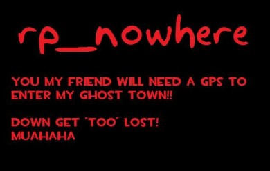 rp_nowhere.zip For Garry's Mod Image 1