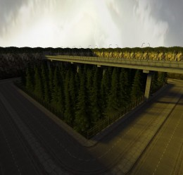 gm_forest_road_v2.zip For Garry's Mod Image 1