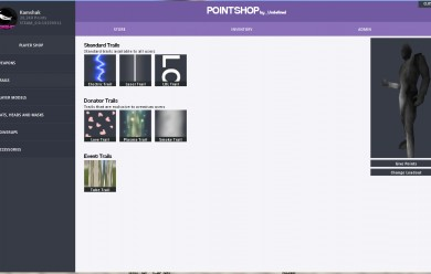Subcategories for Pointshop For Garry's Mod Image 2