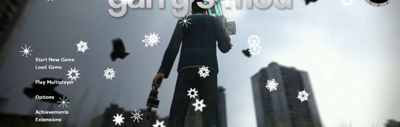 Main menu snow For Garry's Mod Image 1