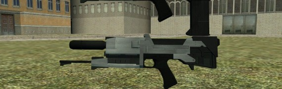 FO3 Custom M95A1 Plasma Rifle