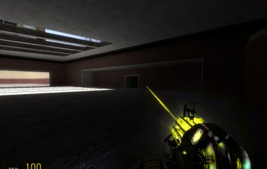 Yellow Physgun with Glove For Garry's Mod Image 1