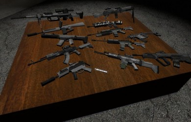 mw2_weapon_models.zip For Garry's Mod Image 1