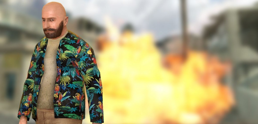 max payne 3 parrot shirt