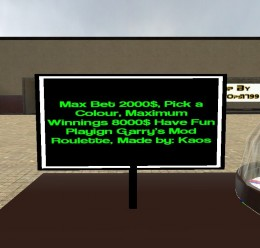 roulette.zip For Garry's Mod Image 3