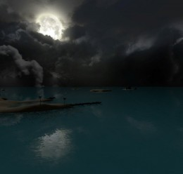 gm_tropicalwaters_night.zip For Garry's Mod Image 2