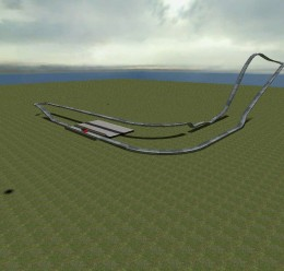 flatgrassrollercoaster.zip For Garry's Mod Image 2
