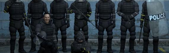 L4D2 Human Riot Cops