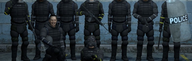l4d2-human-riot-cops.zip For Garry's Mod Image 1