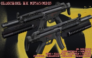 hexed_mp5a5.zip For Garry's Mod Image 1