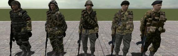 Black Ops Spetsnaz NPCs