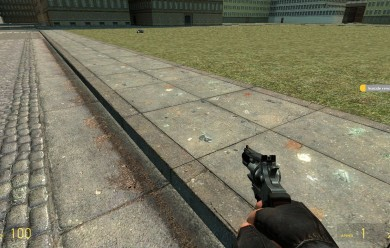 Tourretes Suicide revolver! For Garry's Mod Image 1