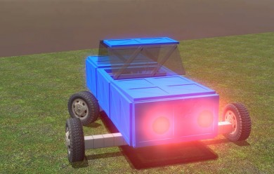 The Metal Car For Garry's Mod Image 2