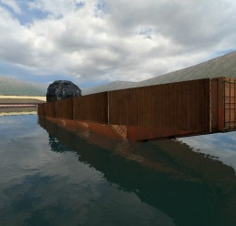 Massive Steel Boat (AD) For Garry's Mod Image 1