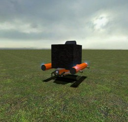 orangeandblack_flying_machine. For Garry's Mod Image 1