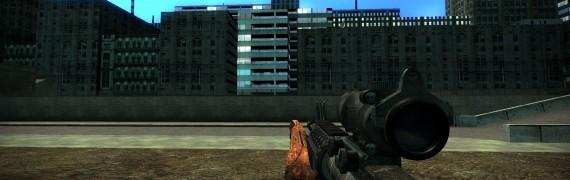 Battlefield 3 M4A1 SWEP