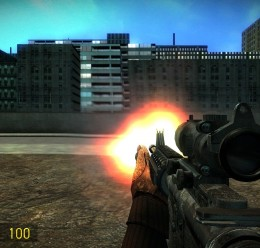 Battlefield 3 M4A1 SWEP For Garry's Mod Image 2